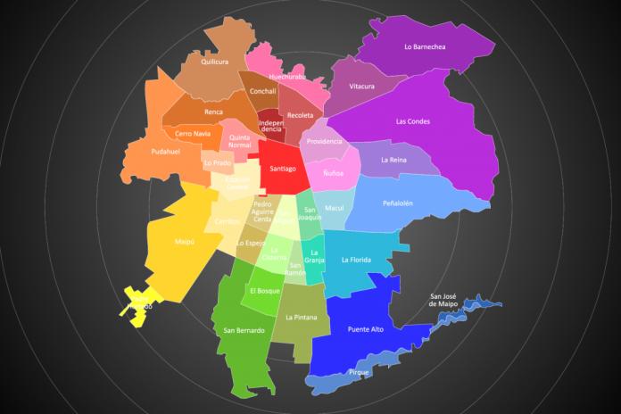 comunas en cuarentena